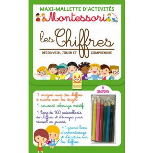 Montessori Les Chifres Decouvrir, comprendre et jouer /zestaw do nauki liczenia/