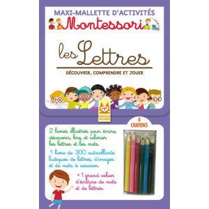 Montessori Les Lettres Decouvrir, comprendre et jouer /zestaw do nauki pisania/