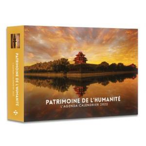 Patrimoine de France L'agenda-calendrier 2022 Kalendarz 2022 Dziedzictwo Francji