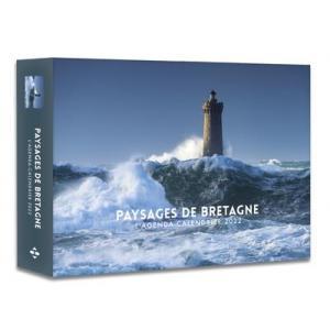 Paysages de Bretagne - L'agenda-calendrier 2022 Krajobrazy Bretanii - Kalendarz 2022