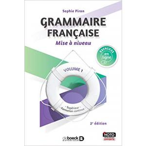 Grammaire francaise Mise a niveau volume 1 + ćwiczenia online
