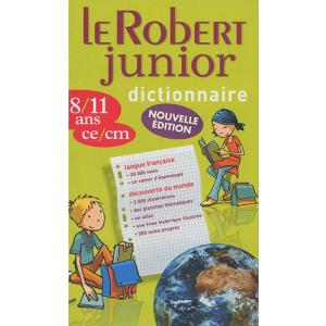 Le Robert Junior Illustre Dictionnaire 8/11 ans