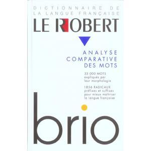 Le Robert Brio - Analyse Comparative des Mots