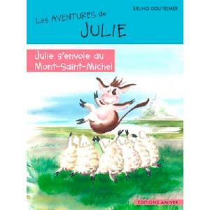 Julie s'envole au Mont Saint Michel