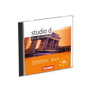 Studio d B2.1 Die Mittelstufe Audio CDs für den Kursraum