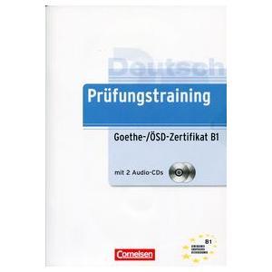 Prüfungstraining DaF B1 Goethe Übungsbuch mit CD
