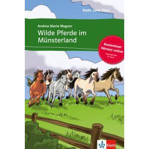 Wilde Pferde im Munsterland (A2) + Hortext Online
