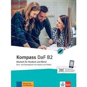 Kompass DaF B2. Deutsch für Studium und Beruf. Podręcznik z ćwiczeniami + Audio + Video