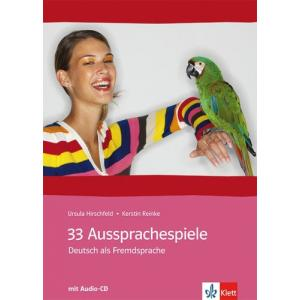 33 Aussprachespiele. Deutsch Als Fremdsprache + CD