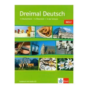 Dreimal Deutsch Neu. Lesebuch + CD