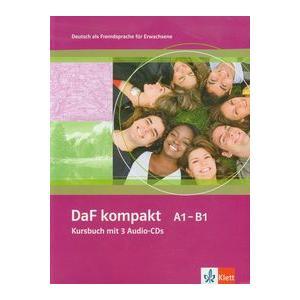 DaF Kompakt A1-B1. Podręcznik + CD