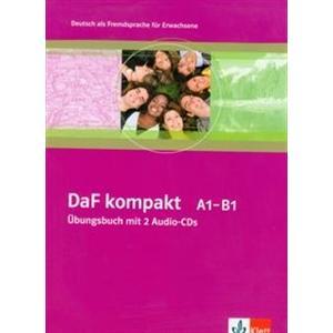 DaF kompakt A1-B1. Ćwiczenia + CD