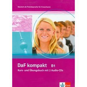 DaF kompakt B1. Podręcznik z Ćwiczeniami + CD