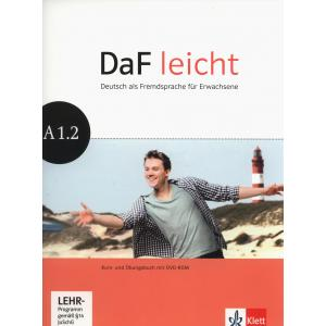 DaF Leicht A1.2. Podręcznik z Ćwiczeniami + DVD