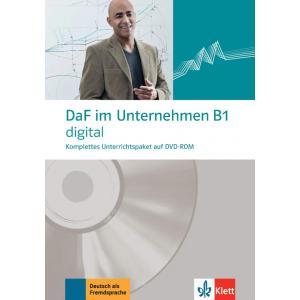 DaF im Unternehmen B1. Digital. DVD