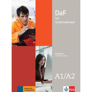 DaF im Unternehmen A1/A2. Ćwiczenia + Audios Online