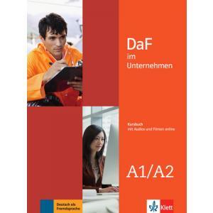 DaF im Unternehmen A1-A2. Podręcznik + Audios und Filmen Online