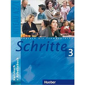 Schritte 3. Kurs- und Arbeitsbuch