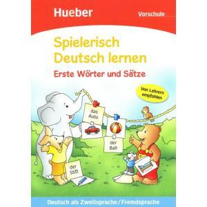 Spielerisch Deutsch Lernen. Erste Wörter Und Sätze. Przedszkole