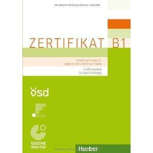 Zertifikat B1. Prüfungszielen Testbeschreibung
