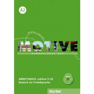 Motive A2 Arbeitsbuch Lektion 9-18 mit MP3-CD