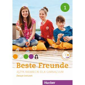 Beste Freunde 1. Ćwiczenia (Do Wersji Wieloletniej) + CD