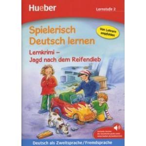 Spielerisch Deutsch Lernen - Lernkrimi-Jagd nach dem Reifendieb