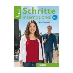 Schritte International Neu 1 (A1.1). Podręcznik + Ćwiczenia + CD