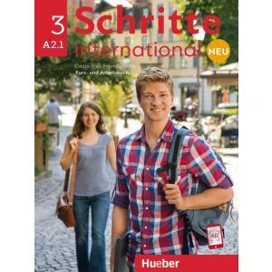 Schritte International Neu 3 (A2.1). Podręcznik + Ćwiczenia + CD