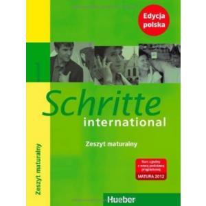 Schritte international 1 : Deutsch als Fremdsprache / Glossar XXL Deutsch-Polnisch - Zeszyt maturalny