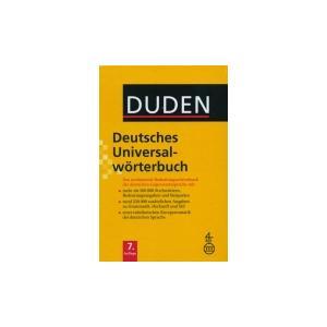 Duden Deutsches Uniwersalworterbuch 7Ed + CD-ROM wyd. 2012