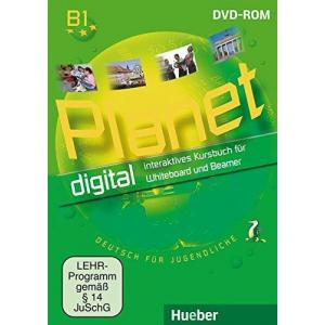 Planet 3 Interaktives Kursbuch für Whiteboard und Beamer, DVD-ROM (1 szt.)