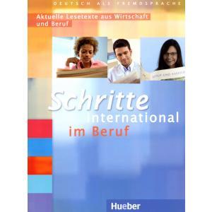 Schritte International Im Beruf. Aktuelle Lesetexte Aus Wirtschaft Und Beruf (Do Części 1-6)