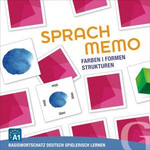 Sprachmemo Deutsch, Farben, Formen, Stukturen