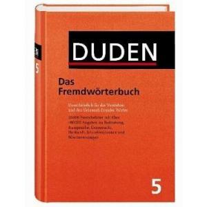 Duden. Band 5. Das Fremdwörterbuch. 8 ed. HB