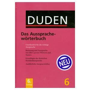 Duden. Band 6. Aussprachewörterbuch. 6 ed. HB