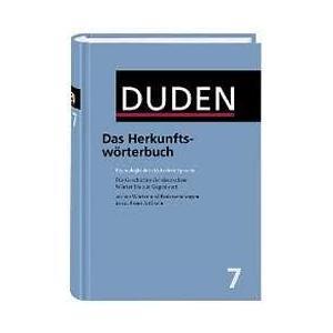 Duden. Band 7. Das Herkunftswörterbuch. 3 ed. HB