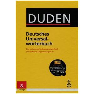 Duden Deutsches Universalwörterbuch 8 Ed+CD-ROM HB wyd. 2016