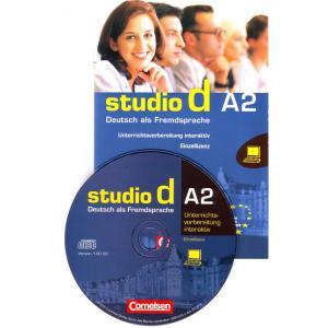 Studio d A2 Unterrichtsvorbereitung interactiv auf CD-Rom (poradnik nauczyciela)