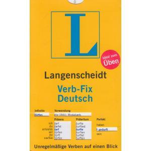 Langenscheidt Verb-Fix Deutsch