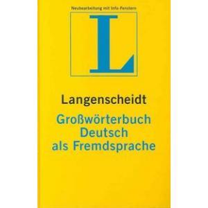 Lang Grossworterbuch Hb