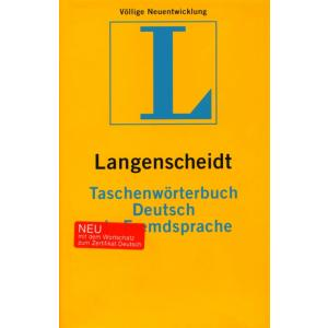 Taschenworterbuch Deutsch Als Fremdsprache