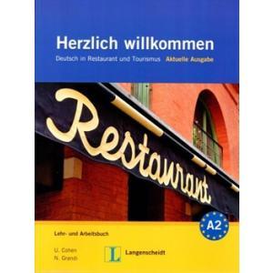 Herzlich Willkommen NEU Lehr- und Arbeitsbuch +Audio CD(3)