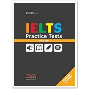 IELTS Practice Test Book + CD + Key
