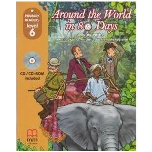 Around The World in 80 Days. Primary Readers + CD