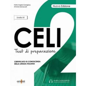 Celi 2 Test di preparazione książka + audio online Livello B1 Nuova Edizione