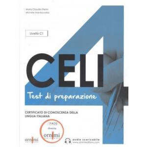 Celi 4 Test di preparazione książka + audio online Livello C1 Nuova Edizione