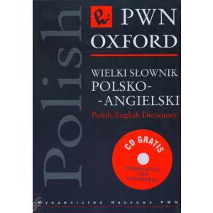 Wielki Słownik Polsko-Angielski PWN-Oxford + CD