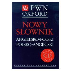 Nowy Słownik Angielsko-Polski Polsko-Angielski PWN-Oxford + CD