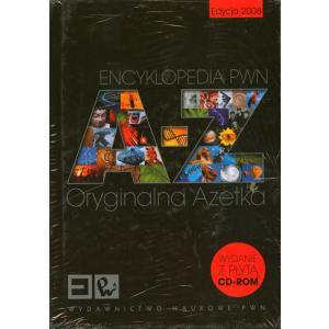 Encyklopedia PWN A-Z. Oryginalna Azetka + CD